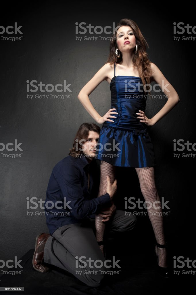 Young couple royalty-free stock photo