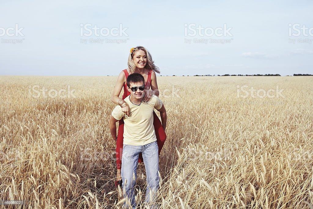 Giovane Coppia foto stock royalty-free