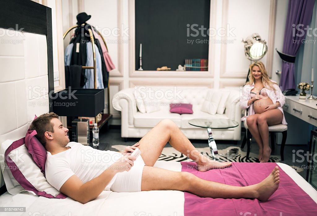 Young couple relationship stock photo