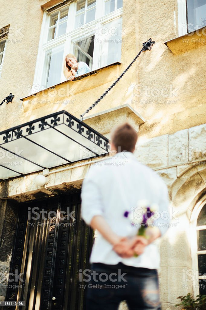 Young couple together royalty-free stock photo