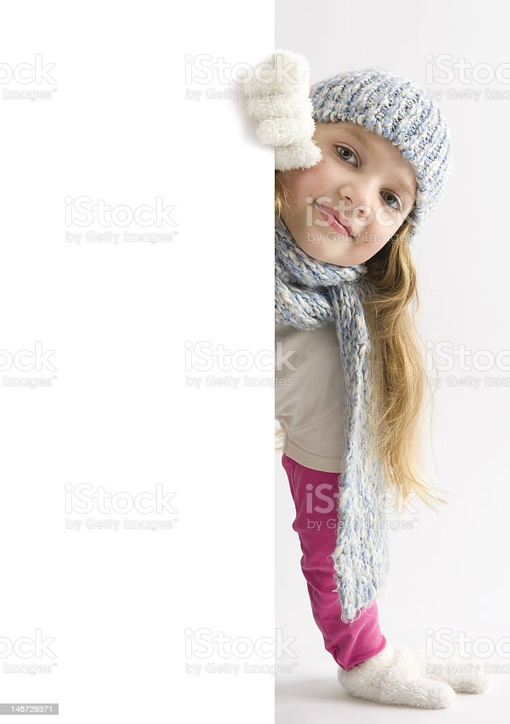 Young cute girl royalty-free stock photo
