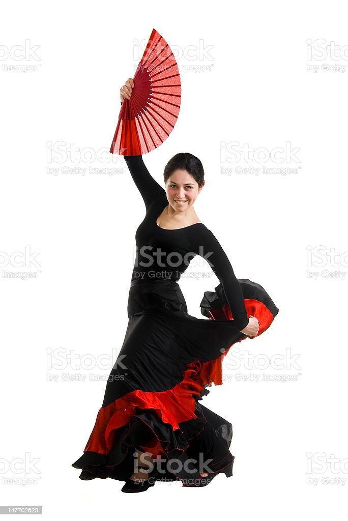 young dancer girl stock photo