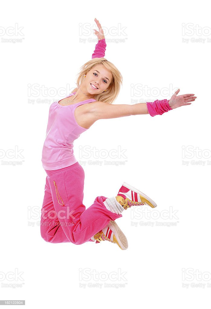 Young dancer royalty-free stock photo