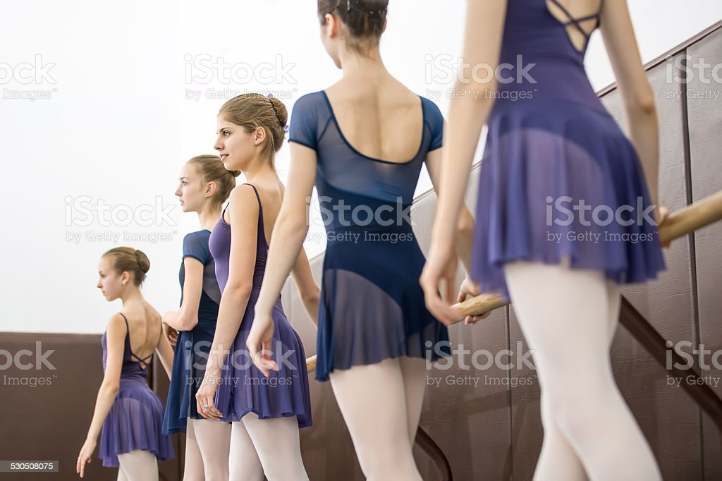 young dancers stock photo