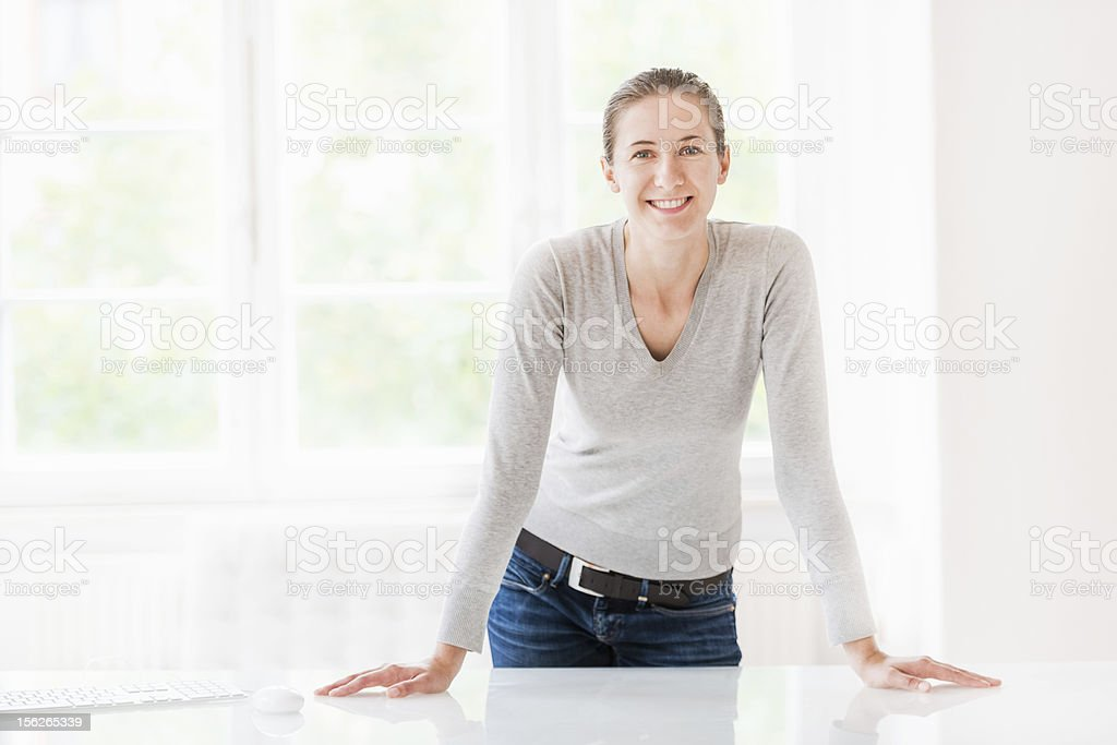 Young Designer in Office stock photo