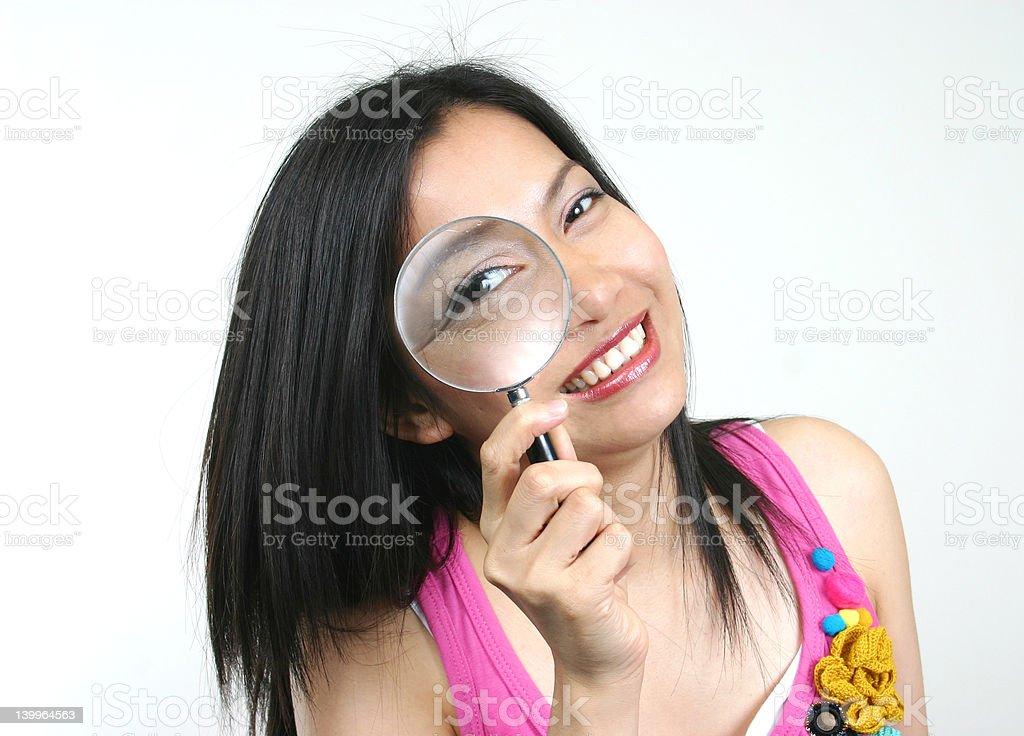 Junge Detektiv Lizenzfreies stock-foto