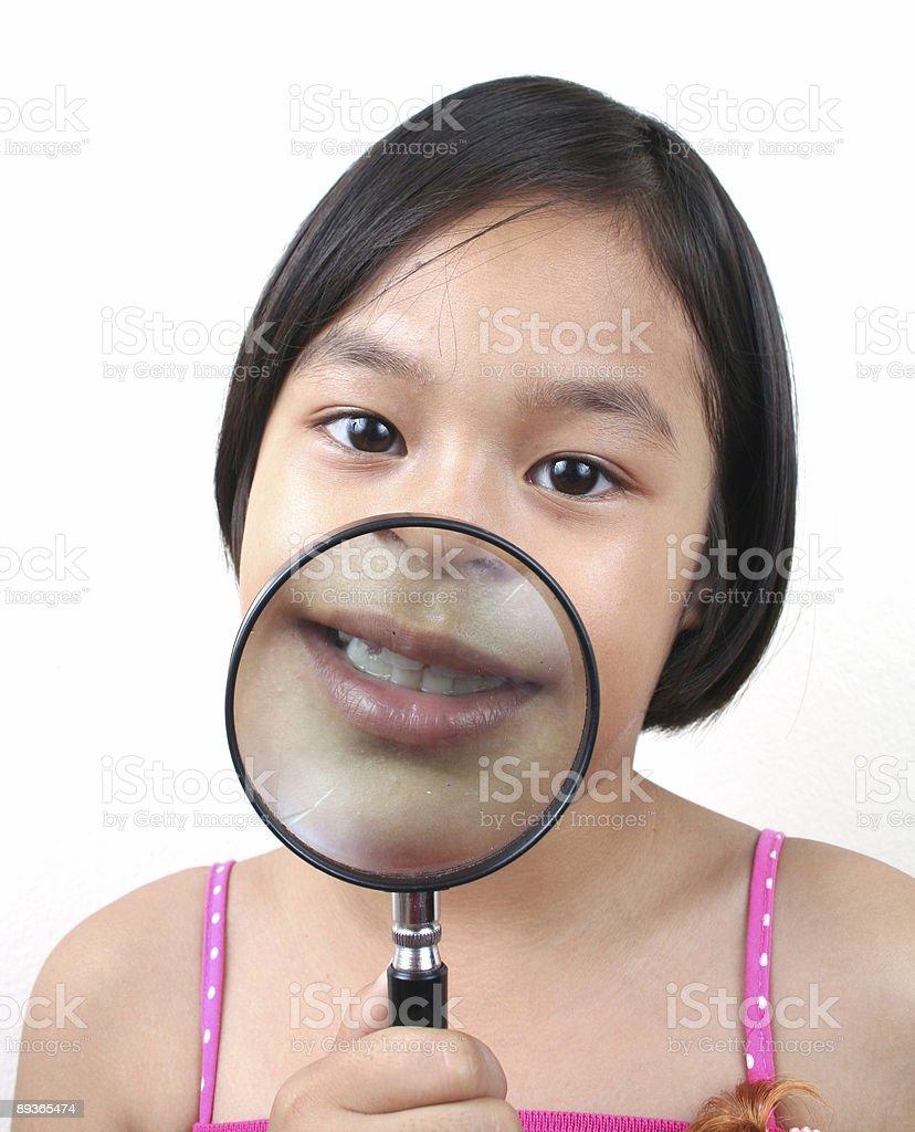 Junge Detektiv (Serie Lizenzfreies stock-foto