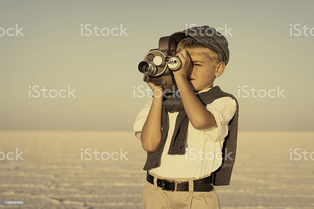 Young Director stock photo