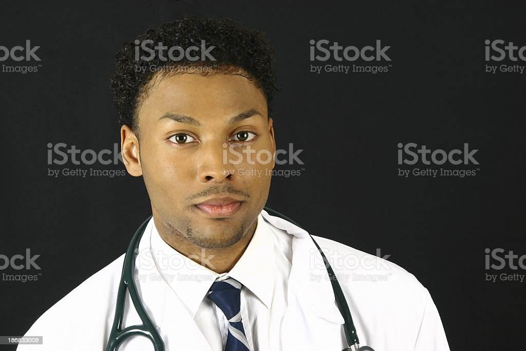 Young doctor stock photo