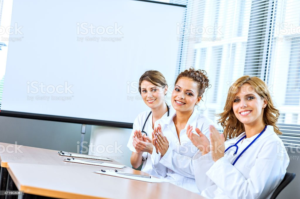 Young doctrs stock photo