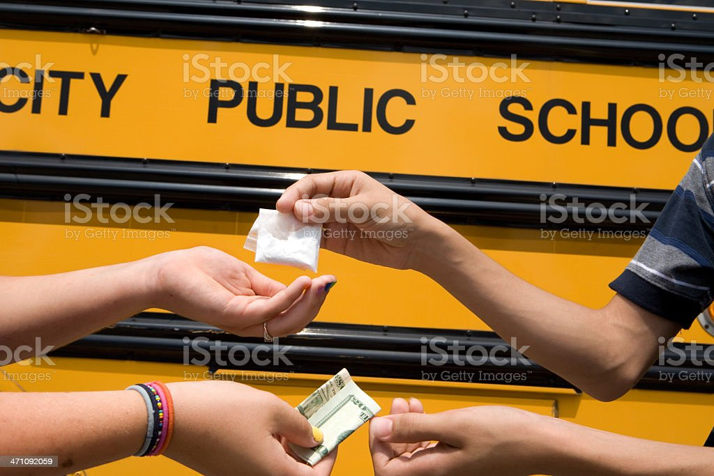 young drug dealers royalty-free stock photo