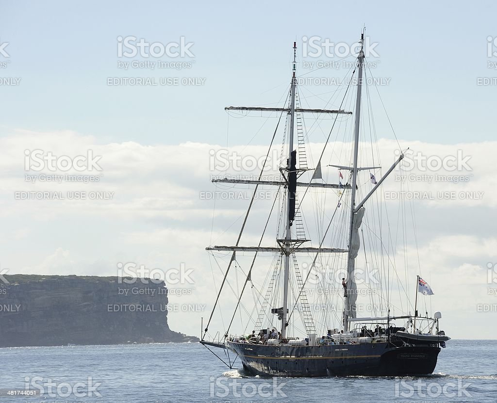 Young Endeavour stock photo