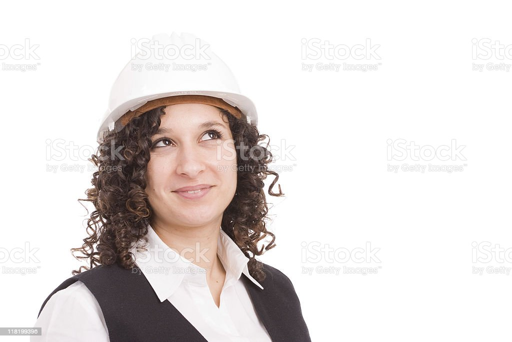 Young engineer, full of dreams royalty-free stock photo