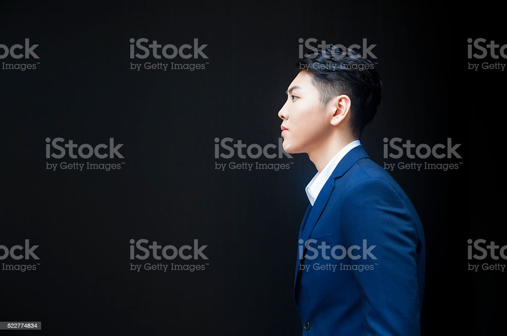 Young Entrepreneur At Challenge stock photo