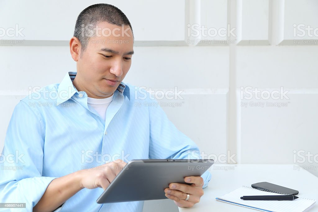 Young Entrepreneur at Work royalty-free stock photo