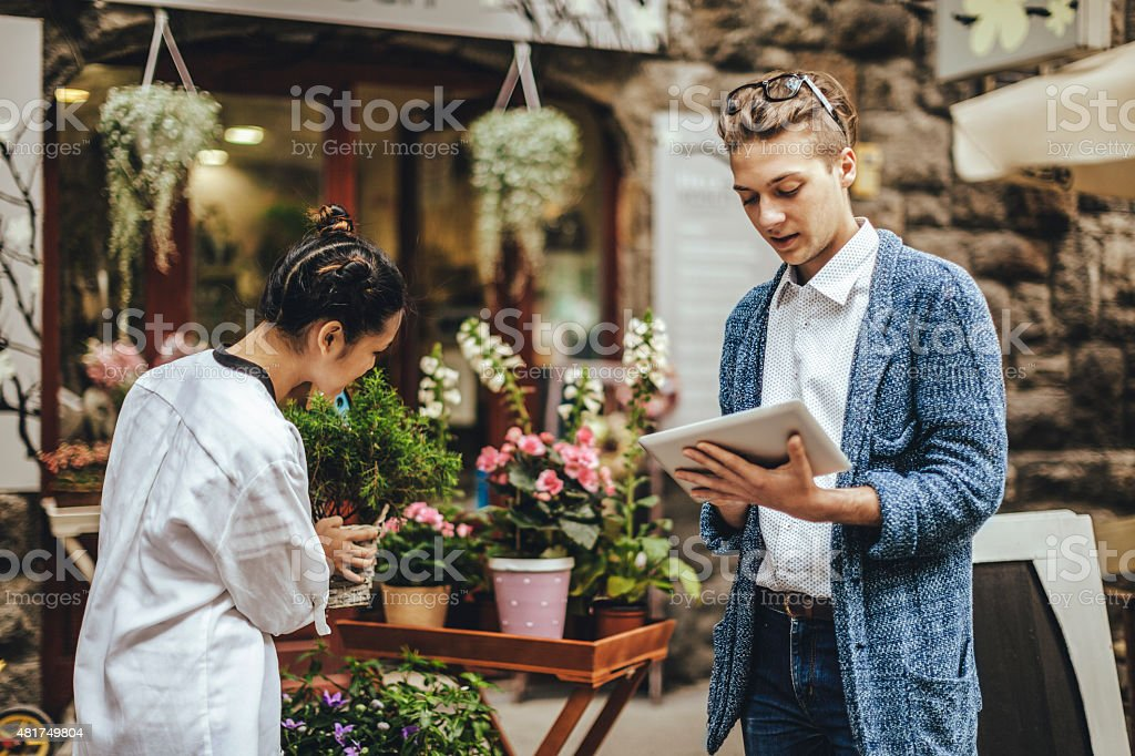 Young entrepreneurs stock photo