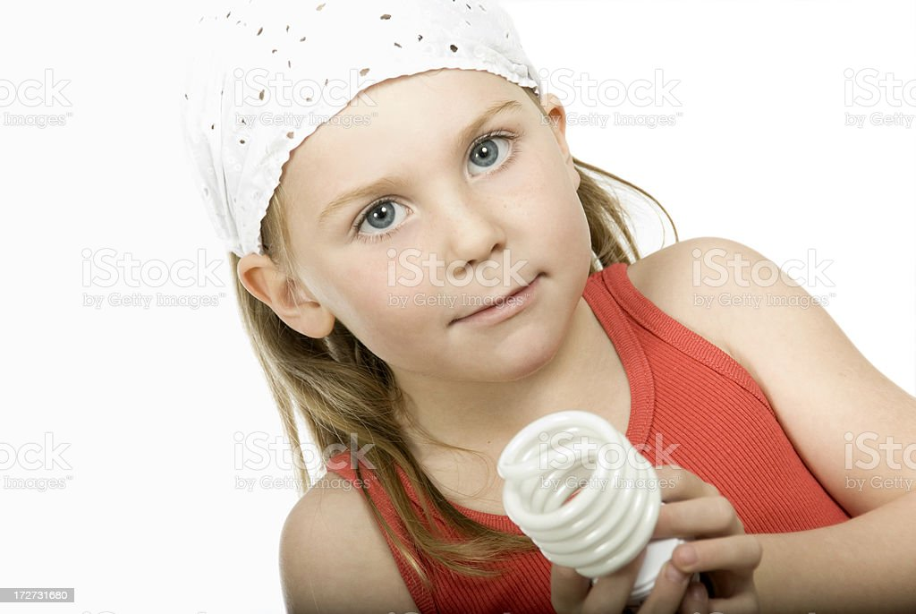 Young Environmentalist royalty-free stock photo