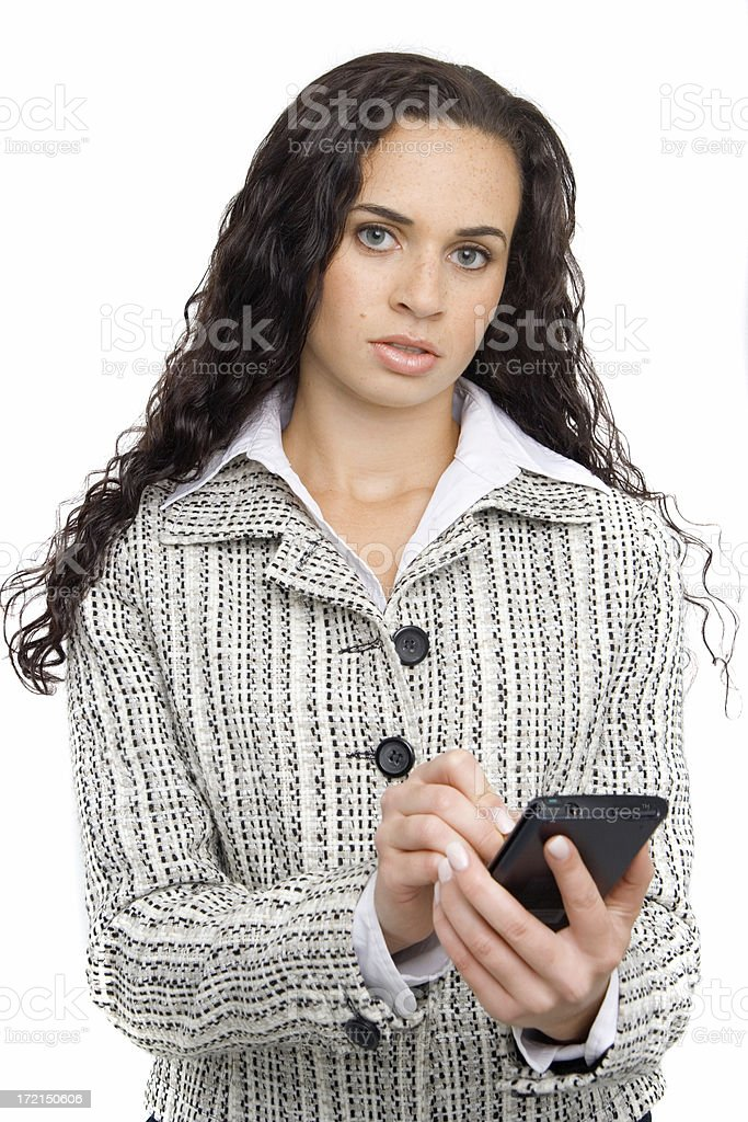 Young ethnic businesswoman royalty-free stock photo