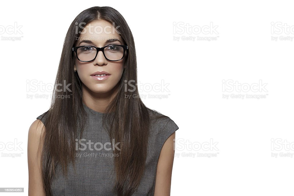 Young executive business woman royalty-free stock photo