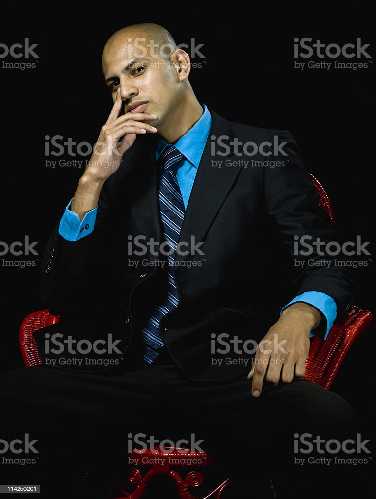 Young executive royalty-free stock photo
