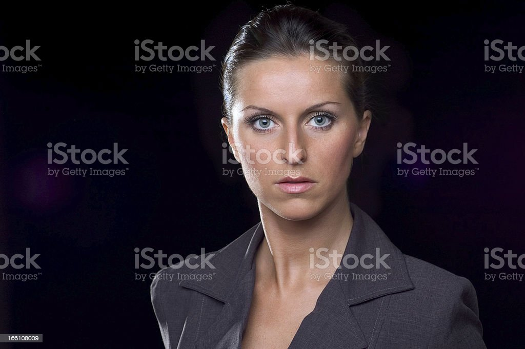 Young Executive Woman royalty-free stock photo