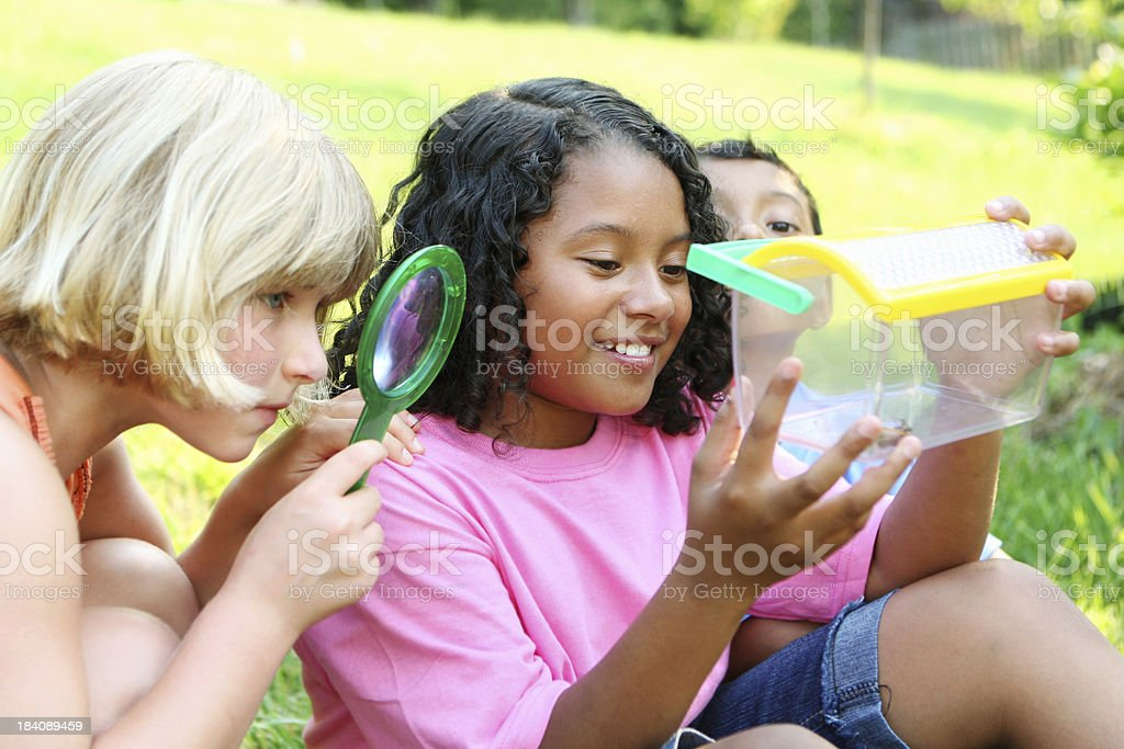 Young explorers royalty-free stock photo
