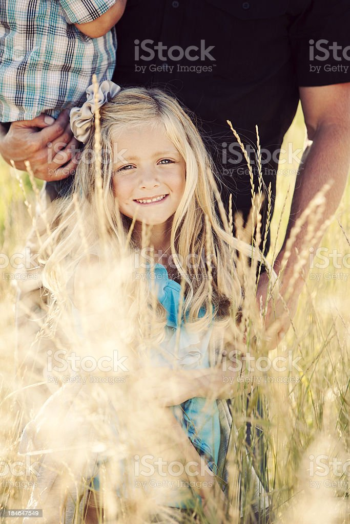 Young Family royalty-free stock photo