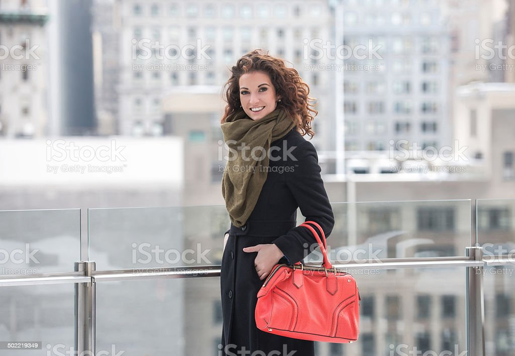 Young Fashion Model stock photo