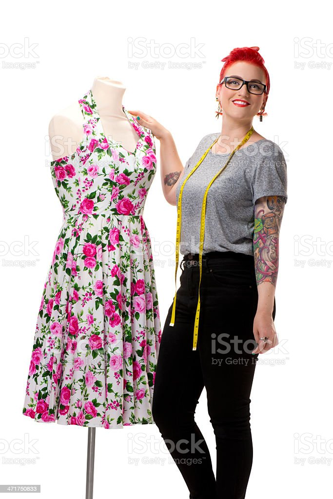 young fashion student royalty-free stock photo