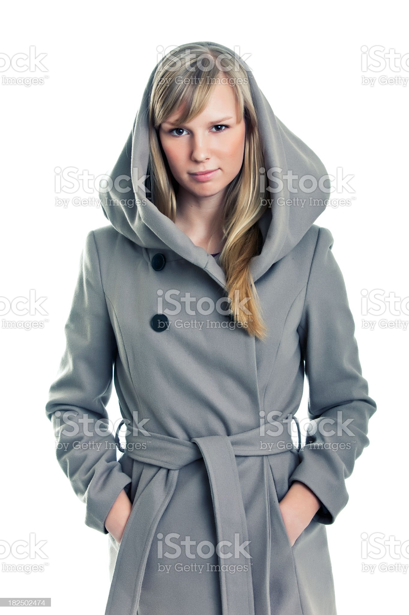Young fashionable female royalty-free stock photo