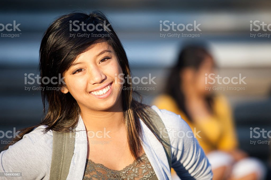 Young Female College Student royalty-free stock photo