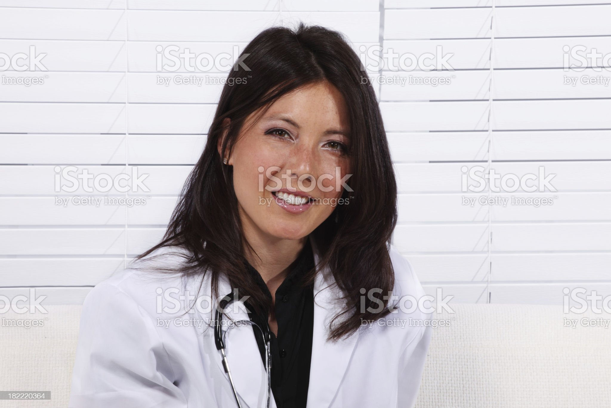 Young female doctor royalty-free stock photo