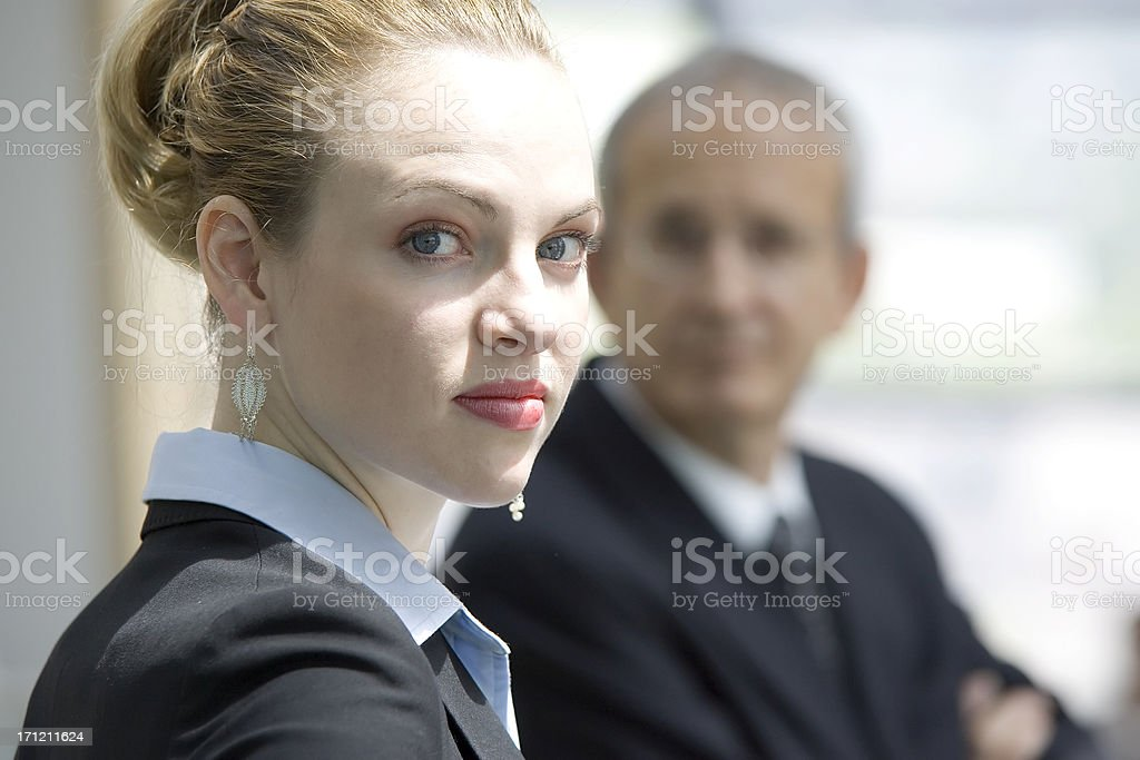 Young Female Executive royalty-free stock photo