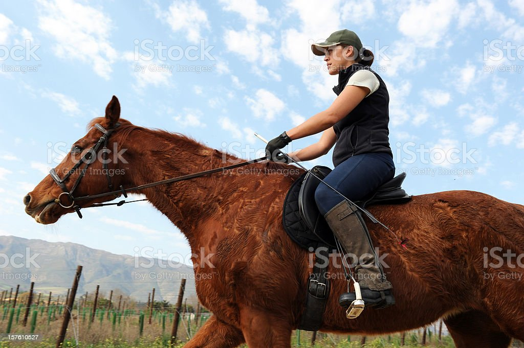 Young Female Farmer royalty-free stock photo