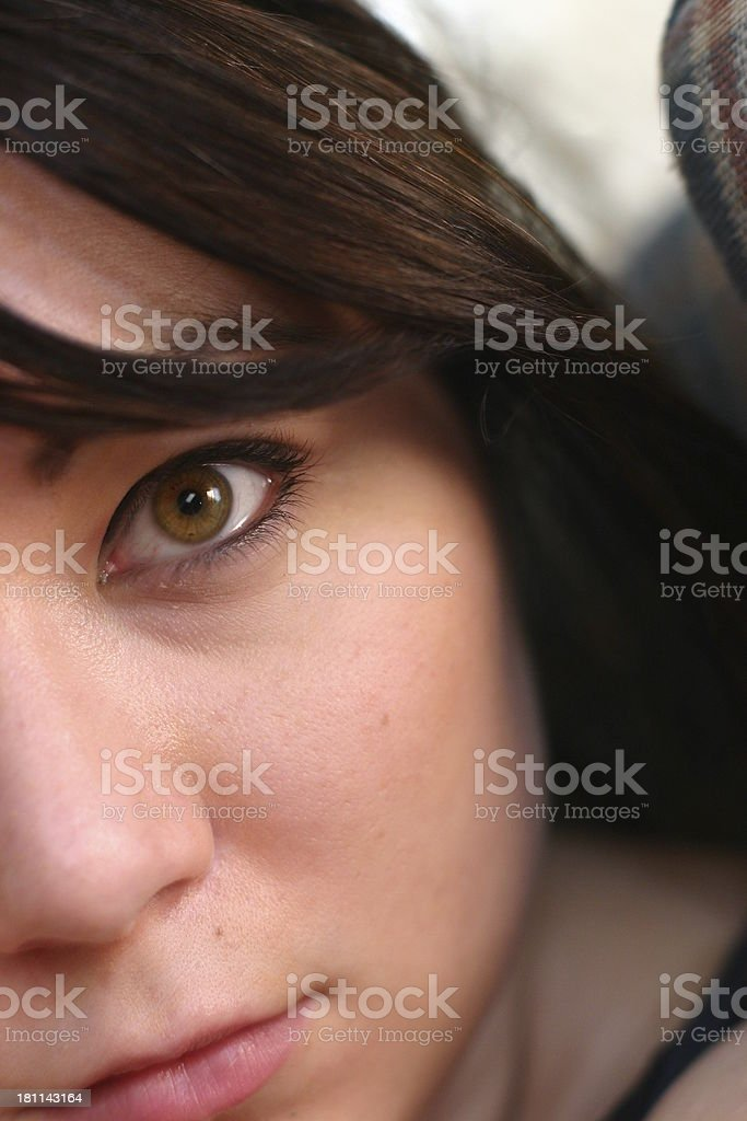 young female royalty-free stock photo