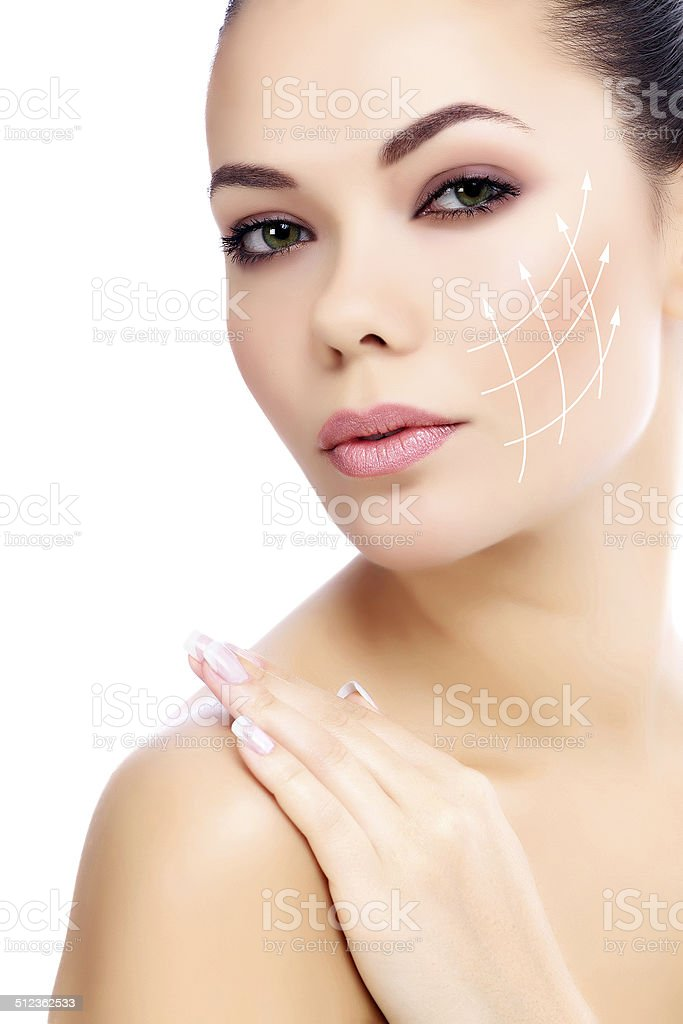 Young female stock photo