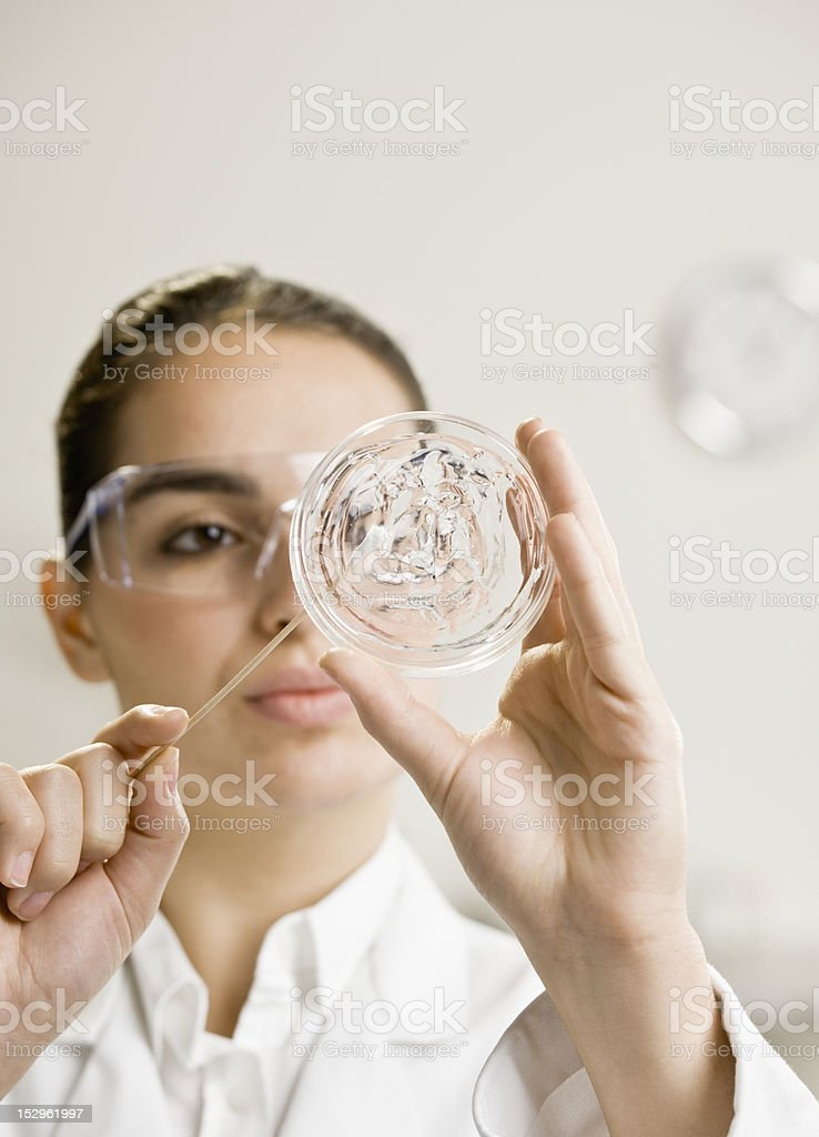 Young Female Scientist royalty-free stock photo