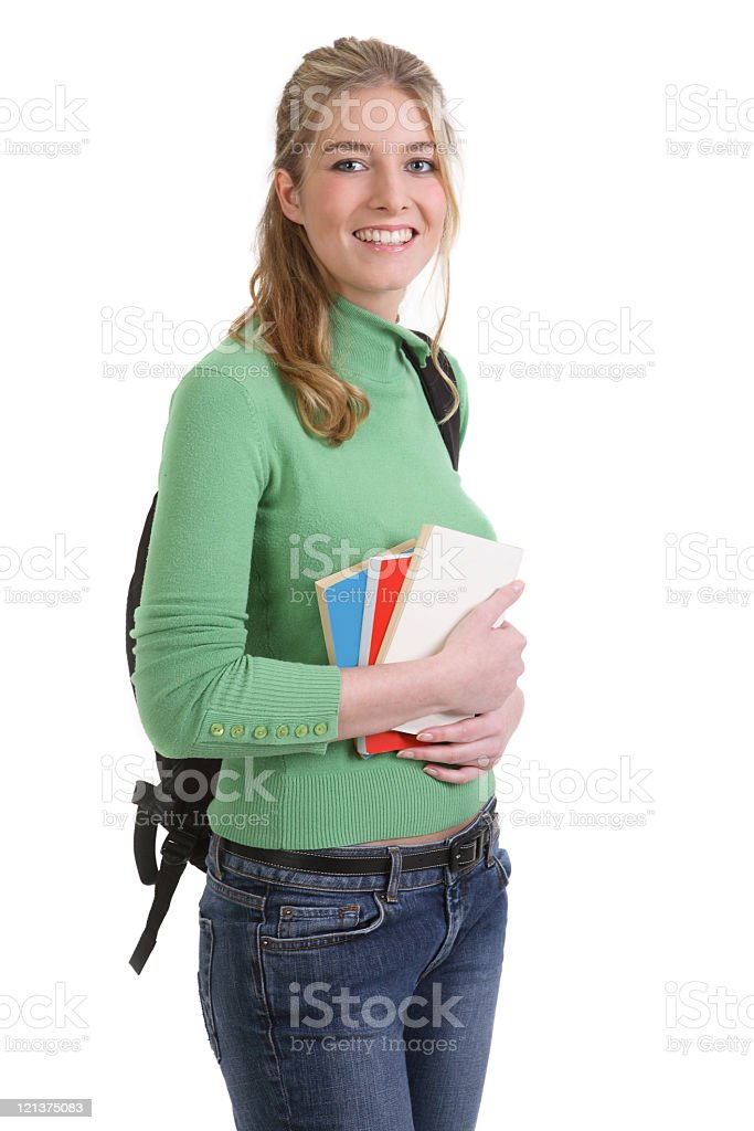 Young Female Student stock photo