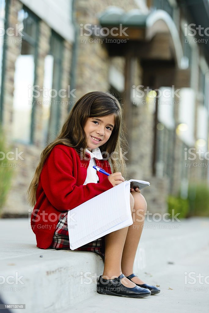 Young Female Student royalty-free stock photo