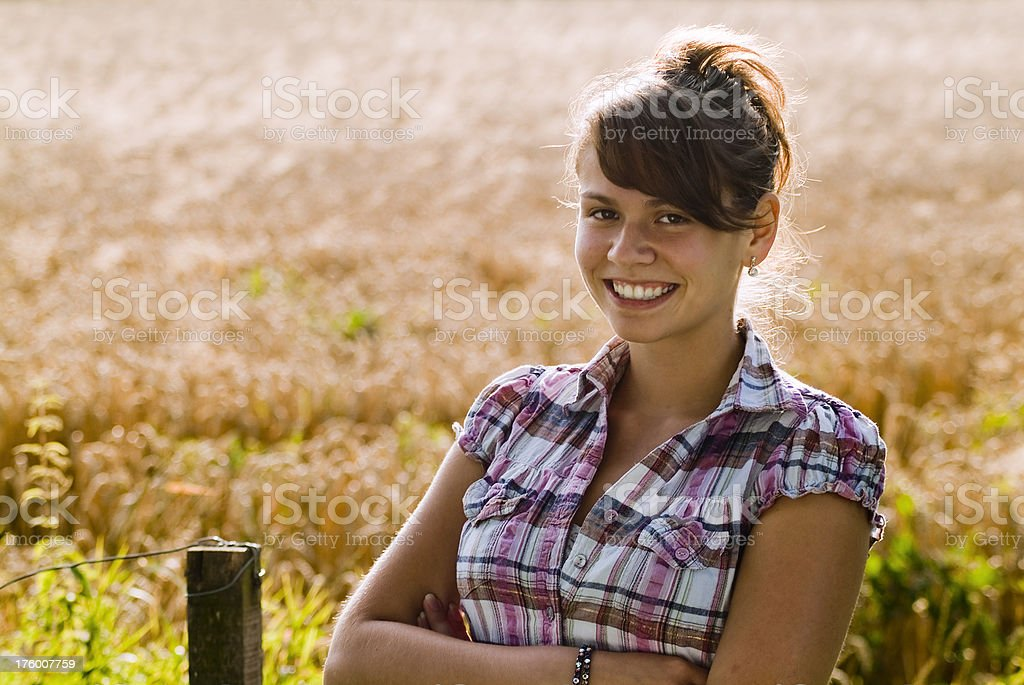 Young Female Teenager royalty-free stock photo