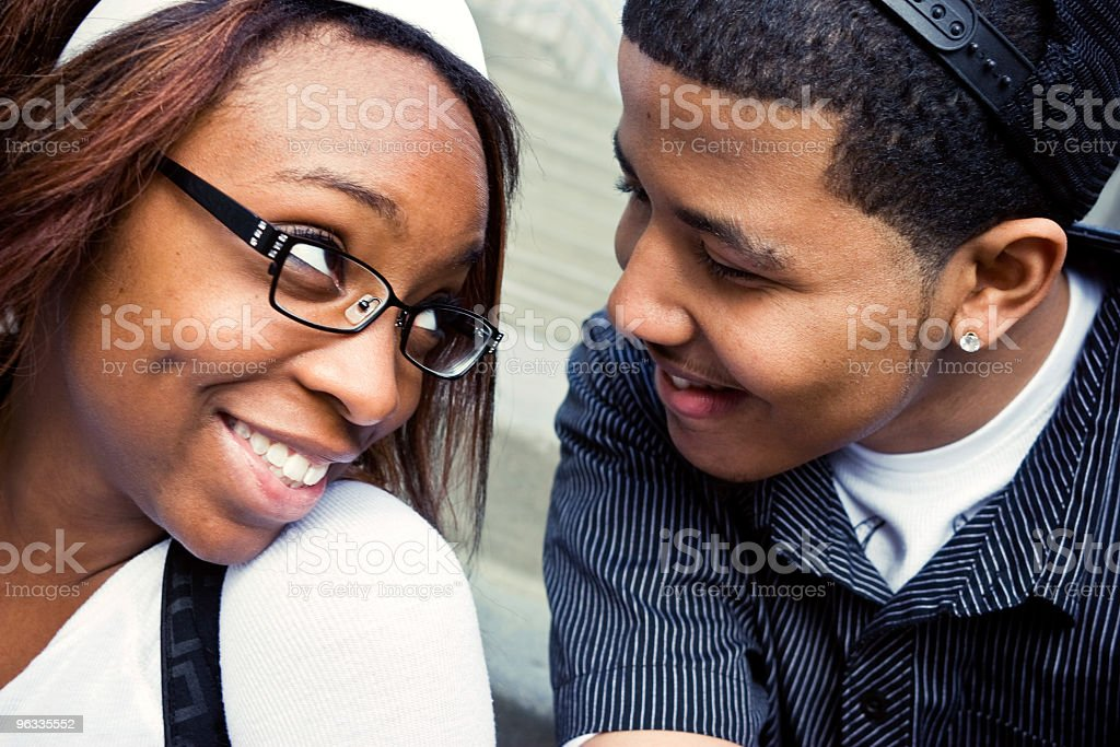 Young Friends 2 royalty-free stock photo