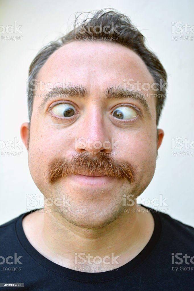 Young Funny Man stock photo