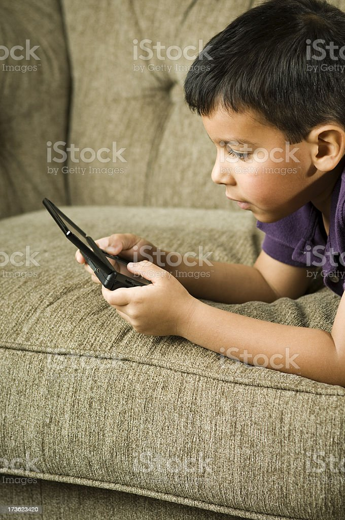 young gamer royalty-free stock photo