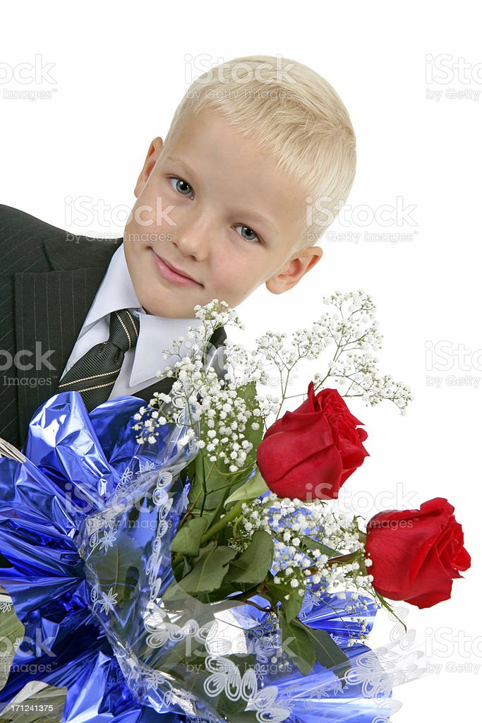 Young gentleman royalty-free stock photo