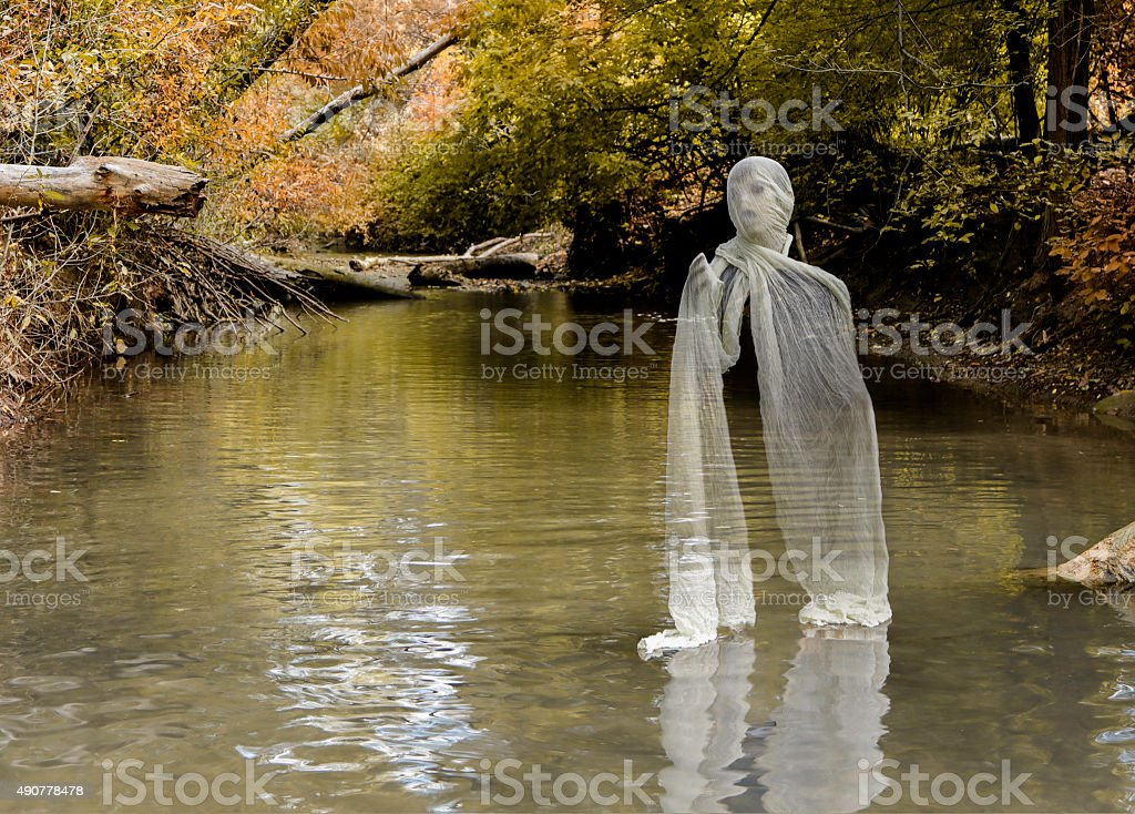 Young Ghost stock photo