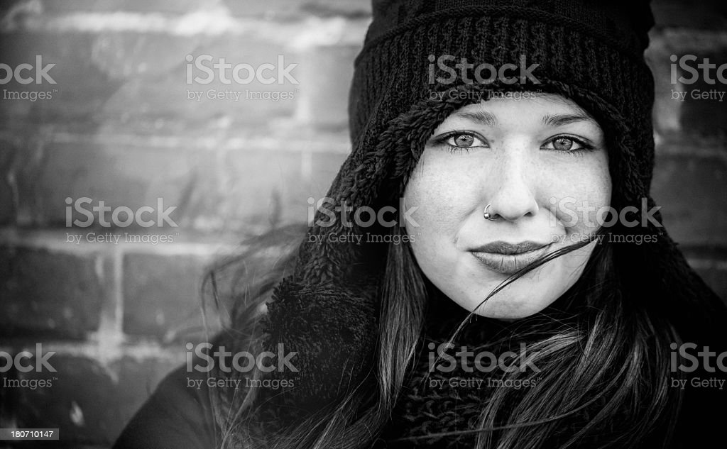 Young Girl Close Up royalty-free stock photo