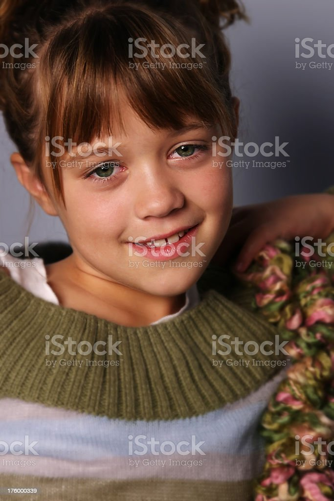 Young Girl Innocence royalty-free stock photo