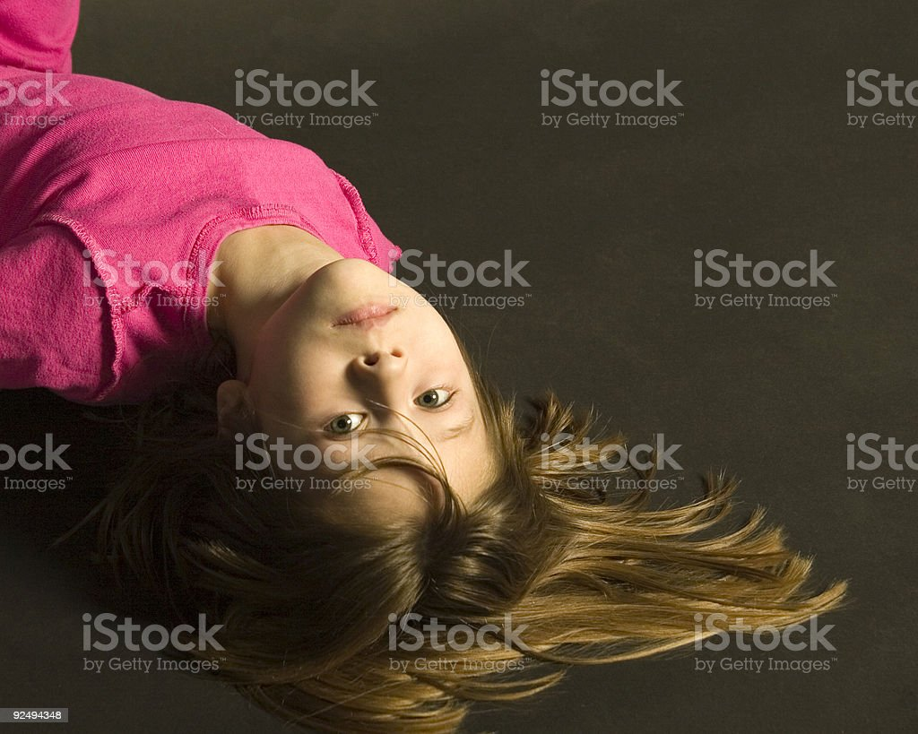 Young Girl Model stock photo