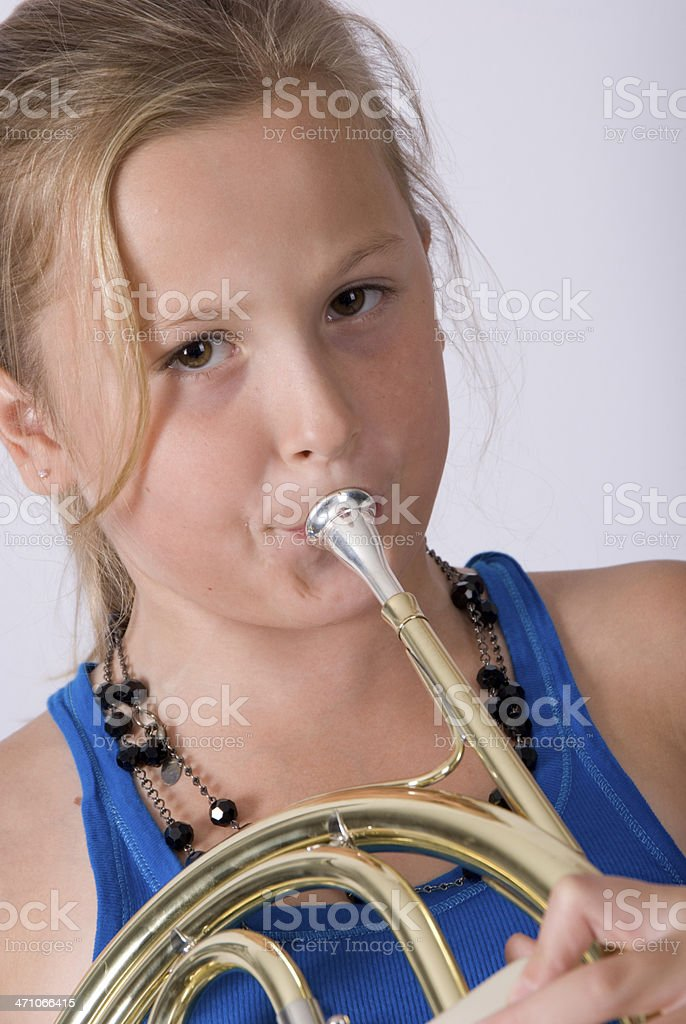 Young girl royalty-free stock photo