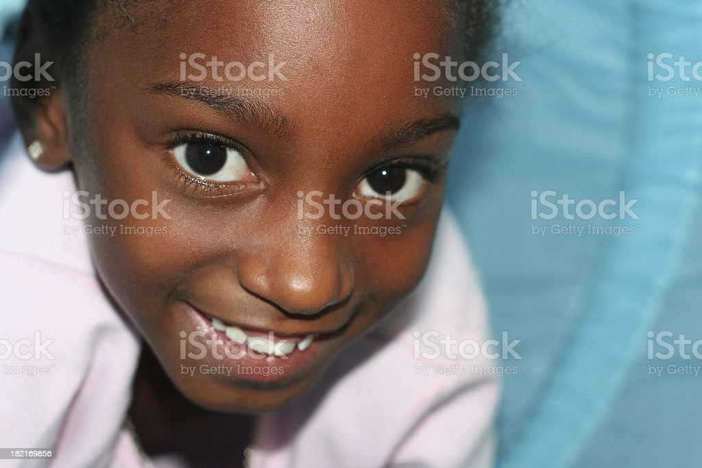 young girl playing royalty-free stock photo